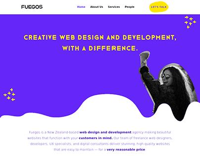 FUEGOS Wordpress Website