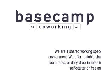 Logo Design for basecamp. coworking