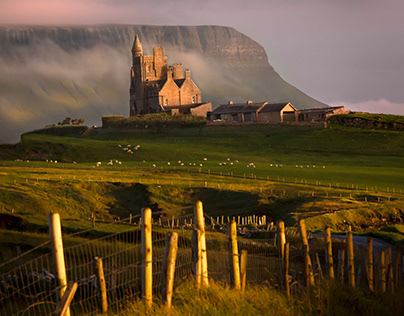 Classiebawn Castle, Mullaghmore, Co Sligo, Ireland