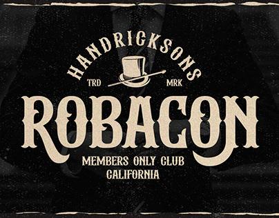 Albertson - Vintage Font