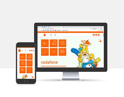 Vodafone rebrand project
