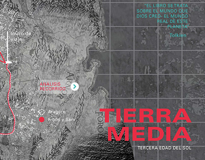 """""""Tolkein"""" Cartografía - Typo Longinotti FADU/UBA"""