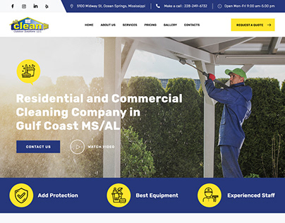 All Clean Outdoor Solutions Project