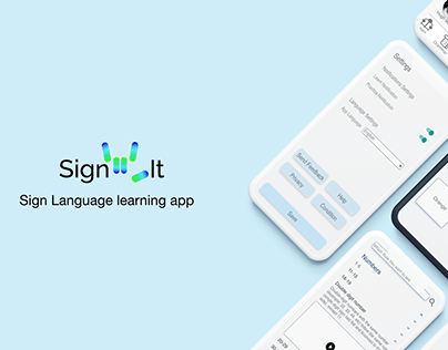 SignIt - Sign language learning app