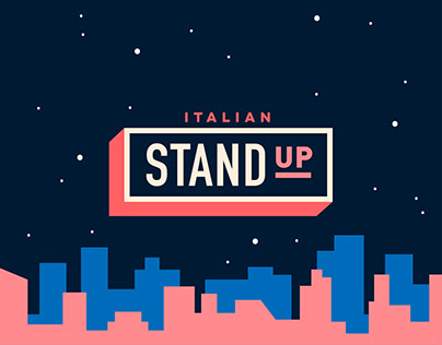 Italian Stand Up - Branding and Logo Animation