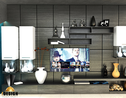 TV Wall Apartment T
