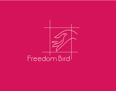 Bird Minimal Logo Mark Design