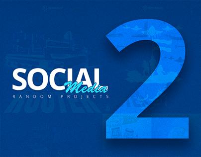"""Social Media Posts """" Random Projects """" vol 2."""