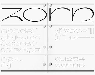 Zorn Typeface