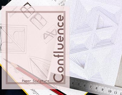 Paper Sculpture- CONFLUENCE