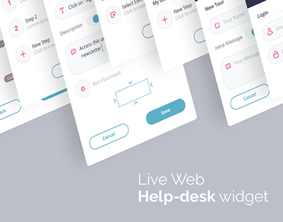 Web Help-Desk Widget design