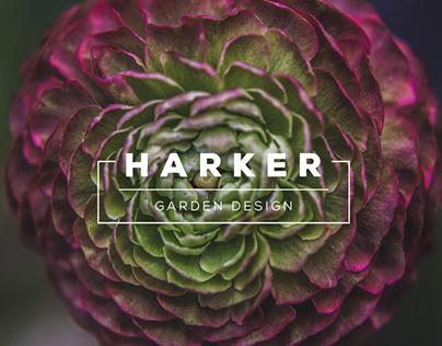 Harker Garden Design Branding
