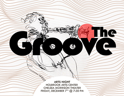 2018 - 2019 The Groove Arts Night Posters