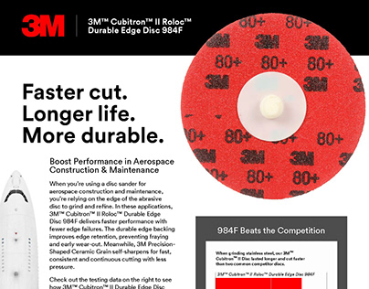 3M - 984F Info Sheet for Aerospace and Metalworking