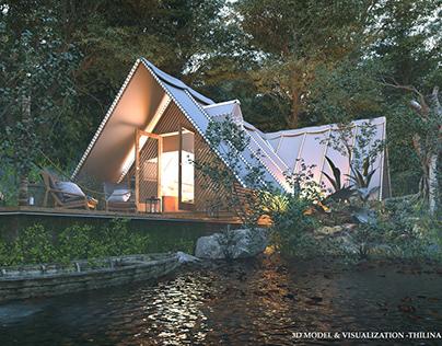 Canvas Cabin Tent