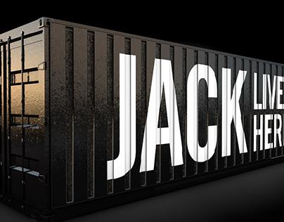 Jack Daniel's container bar