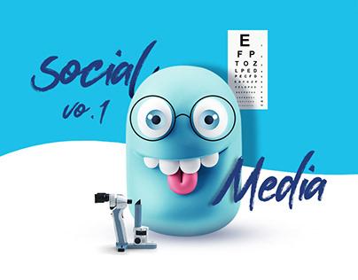 Eye of the world-medical-social media