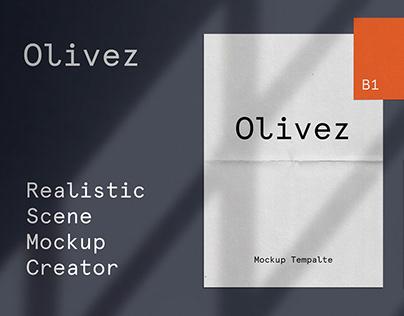 Olivez - Realistic Scene Mockup Creator