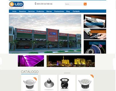 Lighting Store website