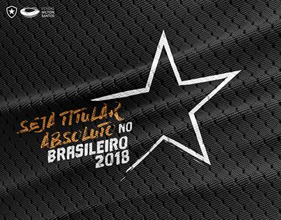 Pacote Brasileiro 2018 - Sou Botafogo