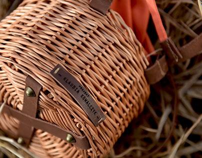 Wicker knapsacks