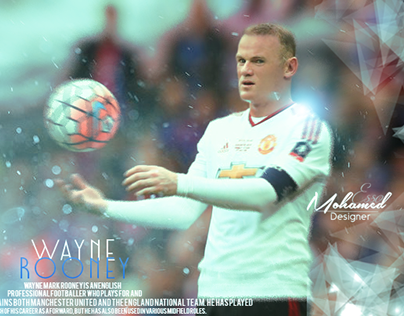 Retouch For Wayne Rooney ~~~~ After-Before Under