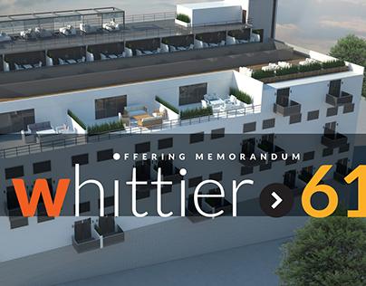 Whittier 61 Brochure