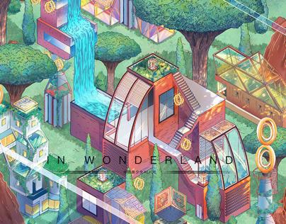 Future Home《In Wonderland》清洁能源X未来之家