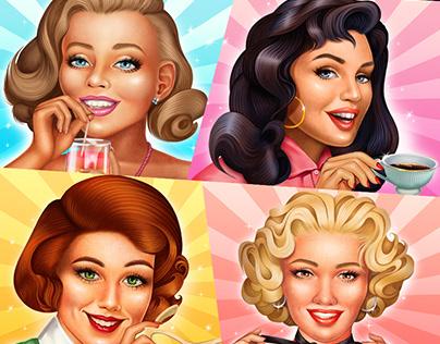 Girls & Girls game