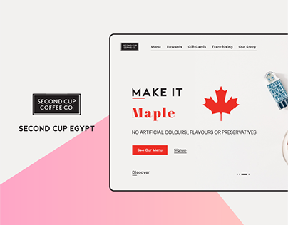 Second Cup UI/UX