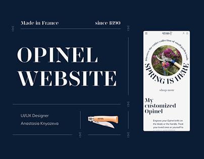 Opinel — Website redesign