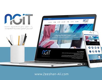 NGIT Website Project, RTL Arabic