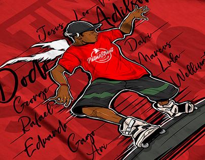 Tribute illustration