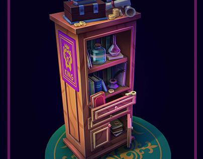 Magic bookshelf
