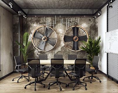 3D Rendering for Conference Room Design