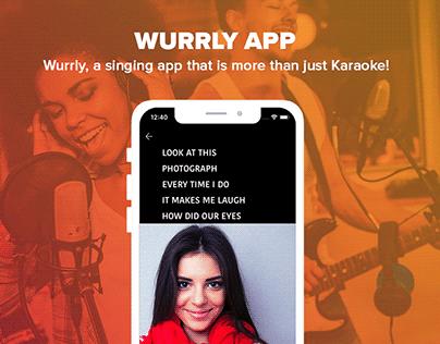 Wurrly Karaoke App