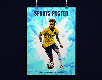 Free Download Sports Poster Template