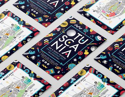 Tuscania graphic design
