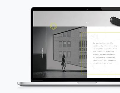 Website for Christina Cagle Design
