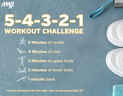 Workout Challenge Digital Slide