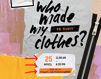 Fashion Revolution Week 2020 Poster