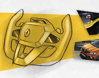 Renault Sport Steering Wheel