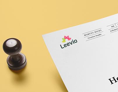 Leevio Logo Design