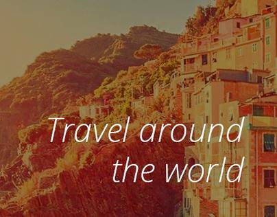 Travel Kitchen: web & logo design for eCommerce