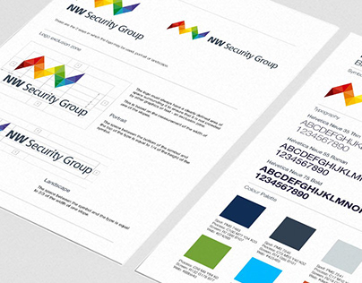 Brand Identity for NW Security Group