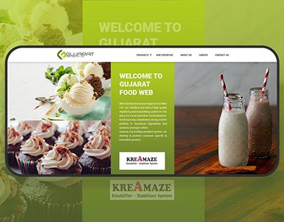 Gujarat Food Web | Food Emulsifiers | Web Application