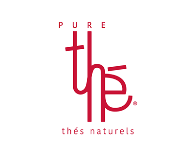 Thé - logo and packaging