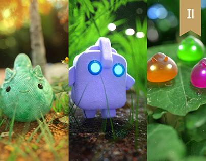Characters Cute Vol.3 Octane Render Oscar Creativo