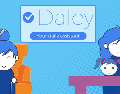 Animated promotion video 'Daley'.