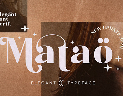 Mataö - Elegance Font Serif